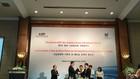 Lễ ký kết Biên bản ghi nhớ hợp tác giữa hai viện nghiên cứu KIEP và NCIF. Ảnh: Bích Thủy