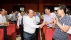 Thủ tướng với các cử tri quận Hồng Bàng. Ảnh: VGP