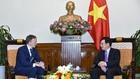 Phó Thủ tướng Phạm Bình Minh tiếp ông Andrejs Pildegovics, Quốc vụ khanh Bộ Ngoại giao Latvia. Ảnh: VGP