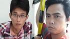 Thái Lập Trung (bên trái) và Dư Đức Minh - 2 nghi can chiếm đoạt tiền cước viễn thông để nướng vào game
