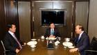 Thủ tướng Chính phủ Nguyễn Xuân Phúc ăn sáng làm việc với Thủ tướng Lào Thongloun Sisoulith và Thủ tướng Campuchia Hun Sen. - Ảnh: VGP