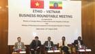 Toạ đàm kinh tế Việt Nam - Ethiopia sẽ là cơ hội cho doanh nghiệp hai nước tìm kiếm và chia sẻ về cơ hội hợp tác mới, tầm nhìn mới trong quan hệ đặc biệt giữa hai nước. Ảnh Internet