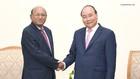 Thủ tướng Nguyễn Xuân Phúc tiếp Bộ trưởng Thương mại Bangladesh, ông Tofail Ahmed. Ảnh: VGP