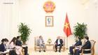 Thủ tướng Nguyễn Xuân Phúc tiếp ông Phạm Tuấn Phan, Giám đốc Điều hành của Ban Thư ký Ủy hội sông Mekong quốc tế. Ảnh: VGP