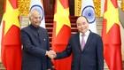 Thủ tướng Nguyễn Xuân Phúc và Tổng thống Ấn Độ Ram Nath Kovind. Ảnh: VGP