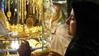Giá vàng thế giới sụt giảm mạnh.