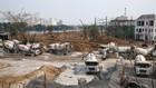 Giá cát tăng không chỉ khiến nhà thầu gặp khó mà còn khiến nhiều chủ đầu tư lo ngại công trình sẽ bị chậm tiến độ. Ảnh: Quang Tuấn