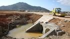 5 gói thầu tại Hòa Bình thuộc Tiểu dự án số 5 Nâng cấp, cải tạo các công trình thủy lợi tỉnh Hòa Bình, Dự án thành phần Cải thiện nông nghiệp có tưới tỉnh Hòa Bình do Ngân hàng Thế giới tài trợ. Ảnh: Lê Tiên
