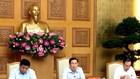 Phó Thủ tướng Vương Đình Huệ chủ trì cuộc họp về tiến độ xây dựng Dự án Luật sửa đổi, bổ sung một số điều của Luật Đầu tư công. Ảnh: Nguyễn Hoàng