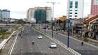 Công ty CP Công trình giao thông công chánh thi công nhiều gói thầu hạ tầng giao thông ở TP. HCM. Ảnh: Tường Lâm