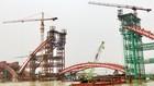 Công ty CP Cảng Hải Phòng đã tạm ngừng khai thác cầu cảng số 9, 10, 11 để phục vụ thi công cầu Hoàng Văn Thụ. Ảnh: Mỹ Hạnh