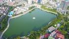 Một trong những Công viên hồ điều hòa trên địa bàn TP. Hà Nội