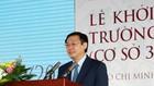 Phó Thủ tướng Vương Đình Huệ phát biểu tại lễ khởi công quần thể Cơ sở 3 của Trường ĐH Văn Lang. Ảnh: VGP