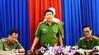 Đại tá Trương Ngọc Danh, Phó giám đốc Công an tỉnh Cà Mau (giữa) thông tin vụ án.