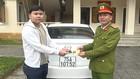 Công an tỉnh Thừa Thiên Huế trao trả xe Mazda 3 cho chủ nhân