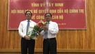 Ông Phạm Viết Thanh (bìa trái) tại lễ công bố chiều ngày 2/3)