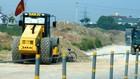 Liên danh nhà thầu trúng thầu sẽ thực hiện Gói thầu xây lắp 1 thuộc Dự án Sửa chữa và nâng cấp đường Tỉnh lộ 9 (Đặng Thúc Vịnh, huyện Hóc Môn, TP.HCM) trong 450 ngày. Ảnh: Quang Tuấn