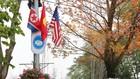 Hà Nội rực rỡ cờ hoa trước Hội nghị Thượng đỉnh Hoa Kỳ - Triều Tiên
