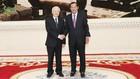 Tổng Bí thư, Chủ tịch nước Nguyễn Phú Trọng hội kiến Thủ tướng Chính phủ Hoàng gia Campuchia Samdech Hun Sen. Ảnh: Trí Dũng
