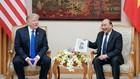 Thủ tướng Chính phủ Nguyễn Xuân Phúc hội kiến Tổng thống Hoa Kỳ Donald Trump. Ảnh: Hiếu Nguyễn