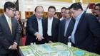 Thủ tướng Nguyễn Xuân Phúc khẳng định, Chính phủ sẽ làm hết sức mình để ủng hộ Trung tâm Đổi mới sáng tạo quốc gia. Ảnh: Hiếu Nguyễn