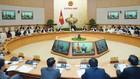 Thủ tướng Chính phủ Nguyễn Xuân Phúc chủ trì phiên họp chuyên đề về xây dựng pháp luật vào chiều 8/3/2019. Ảnh: Hiếu Nguyễn