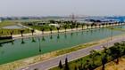Các chỉ tiêu nguồn nước sông Đuống đều đạt giá trị đủ điều kiện để dùng cho mục đích sinh hoạt. Ảnh: Xuân Yến