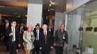 Tổng Bí thư Nguyễn Phú Trọng tham quan Bảo tàng quốc gia Indonesia. Ảnh: TTXVN