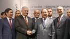 Thủ tướng Nguyễn Xuân Phúc và Thủ tướng Thổ Nhĩ Kỳ Binali Yıldırım dự Diễn đàn Doanh nghiệp Việt Nam-Thổ Nhĩ Kỳ. Ảnh: VGP