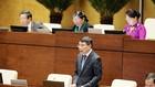 Thống đốc Ngân hàng Nhà nước Lê Minh Hưng trả lời chất vấn tại Quốc hội ngày 16/11.