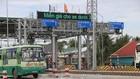 Trạm BOT tuyến tránh thị xã Cai Lậy trước giờ thu phí trở lại. Ảnh: TTXVN