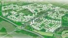 Phối cảnh tổng thể khu đô thị S2 của Hà Nội.