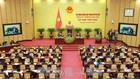 HĐND thành phố Hà Nội đã thông qua Nghị quyết về điều chỉnh mức phí sử dụng tạm thời lòng đường, hè phố để trông giữ phương tiện. Ảnh: TTXVN