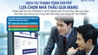 BIDV hỗ trợ thanh toán chi phí lựa chọn nhà thầu qua mạng