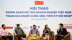 Đại diện một số doanh nghiệp lớn của Việt Nam thảo luận tại Hội thảo. Ảnh: Thành Trung