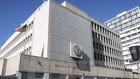 Đại sứ quán Mỹ tại Tel Aviv, Israel ngày 20/1. (Nguồn: AFP/TTXVN)