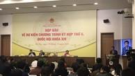 Kỳ họp thứ 6, Quốc hội khóa XIV khai mạc vào sáng ngày 22/10/2018