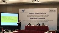 Hội thảo Khoa học quốc tế Một số định hướng tái cơ cấu kinh tế Việt Nam trong bối cảnh Cách mạng Công nghiệp 4.0 diễn ra sáng 22/11
