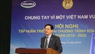 Ông Phạm Xuân Tiến, Phó Giám đốc Sở GD&ĐT Hà Nội phát biểu tại Hội nghị
