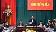 Thủ tướng muốn Hưng Yên tăng gấp đôi số lượng doanh nghiệp
