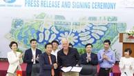 Ký kết hợp đồng tư vấn thiết kế sân golf Bảo Ninh Trường Thịnh