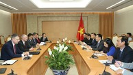 Phó Thủ tướng Vương Đình Huệ tiếp Phó Đại diện Thương mại Hoa Kỳ