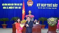 Bạc Liêu có nữ Phó Chủ tịch UBND tỉnh