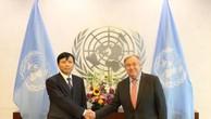 Tổng Thư ký LHQ đánh giá cao sự hợp tác của Việt Nam