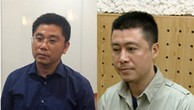 Nguyễn Văn Dương và Phan Sào Nam (từ trái qua phải) được xác định là chủ mưu đường dây đánh bạc nghìn tỷ xuyên quốc gia.