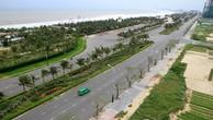 Đường Võ Nguyên Giáp cận kề bãi biển TP Đà Nẵng.