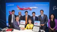 Boeing và Vietjet ký Hợp đồng 100 máy bay trị giá 12,7 tỷ USD