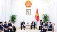 Thủ tướng Nguyễn Xuân Phúc tiếp Phó Chủ tịch Quốc hội Lào