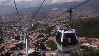Một dự án cáp treo qua đô thị ở Colombia. Ảnh: UITP.