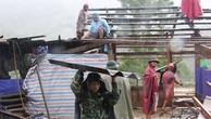 Lực lượng chức năng đang nỗ lực giúp người dân ổn định cuộc sống sau lũ tại Nghệ An. - Ảnh: VOV